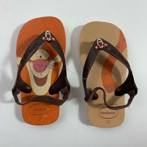Tigger Havaianas sandals